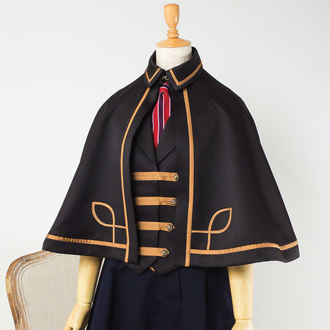 "EXCENTRIQUE ""'15SU Officer Cape"" BLK"