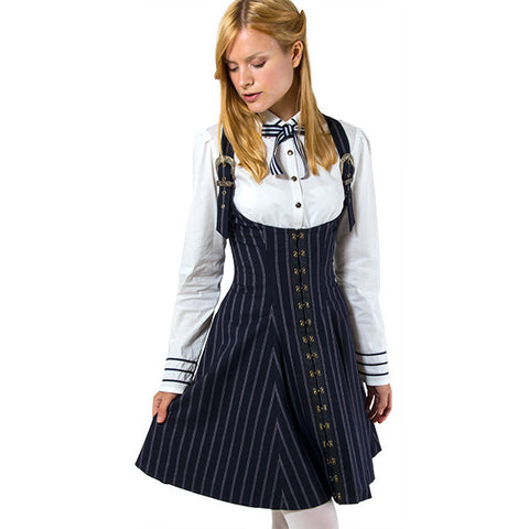 EXCENTRIQUE '15W Regimental Corset JSK NAVY 3 3