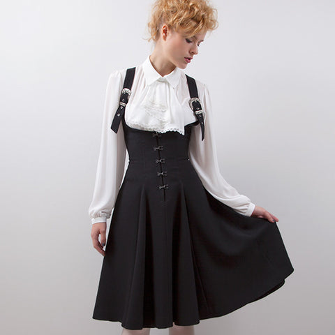 EXCENTRIQUE '16SP Agent Corset Jumper Skirt