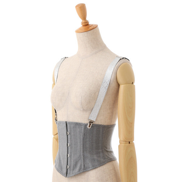 EXCENTRIQUE '15W Suspender Mini Corset GRAY 2 0