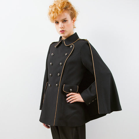 EXCENTRIQUE '16SP Agent Cape Jacket