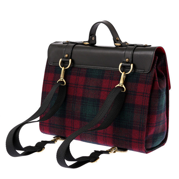 EXCENTRIQUE '15A Academia Satchel Bag WINE