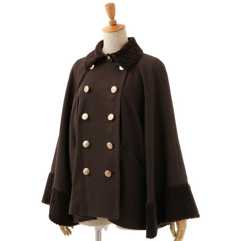 EXCENTRIQUE '15A Fur Academia Cape BROWN