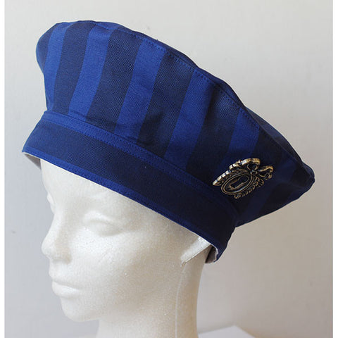 EXCENTRIQUE '16SP Reversible Beret BLUE