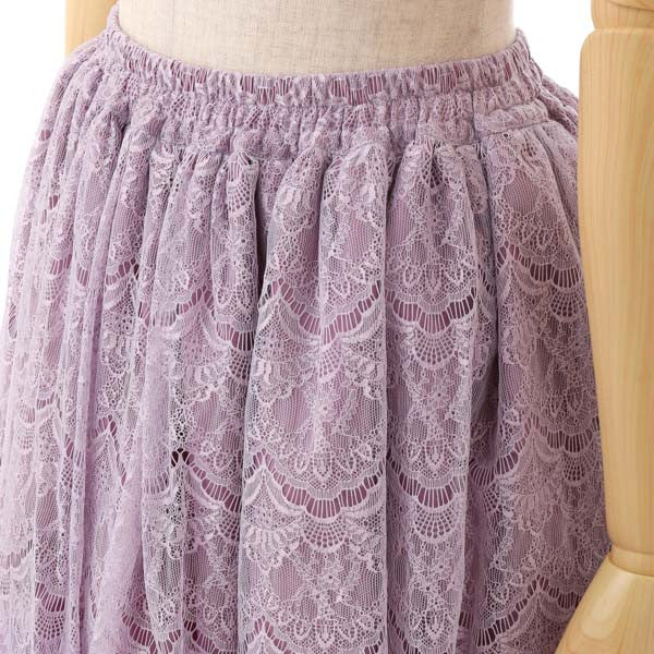 EXCENTRIQUE '15W Lace Tutu RASPBERRY