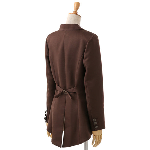 EXCENTRIQUE 15W Manager's Jacket CHOCOLATE