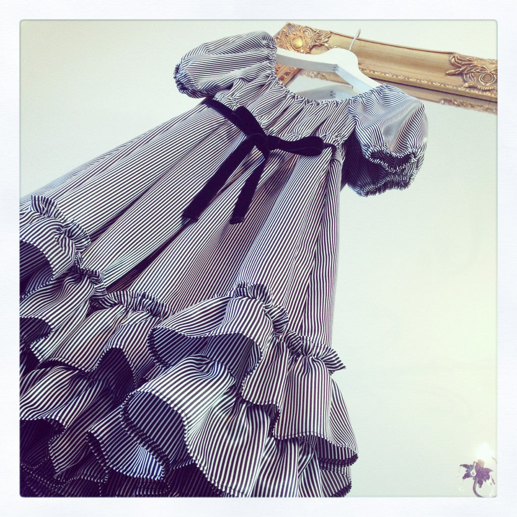 "Princess Doll ""Rose Baby Doll(black ×white stripes)"""