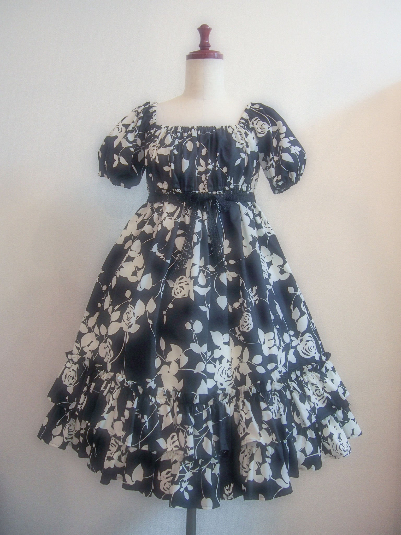 "Princess Doll ""Rose Baby Doll(black rose×rose lace)"""