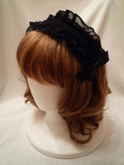 "Pina sweetcollection ""Chiffon georgette frill hair band"""