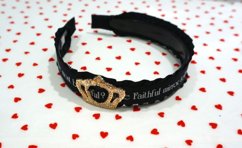 RoseMarie seoir princesss headband  (black)