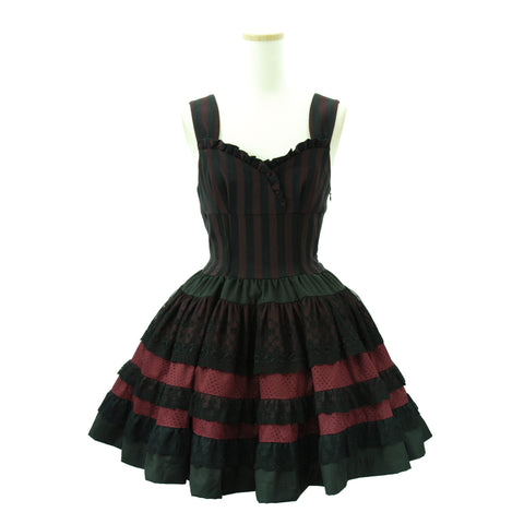 "Sheglit ""quartet"" Dress bordeaux"