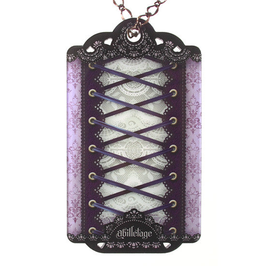 abilletage IC Card Case purple + Stickers