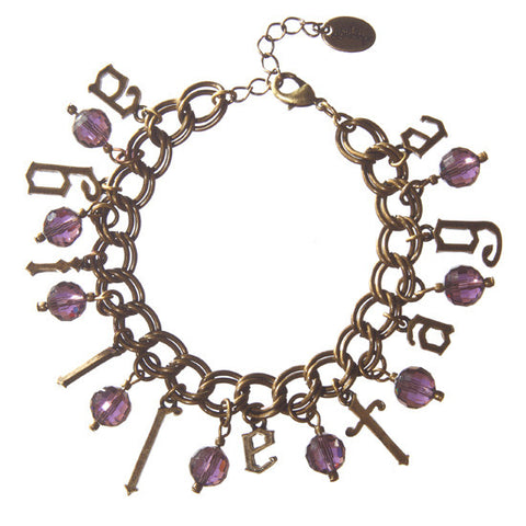 abilletage Logo Bracelet purple