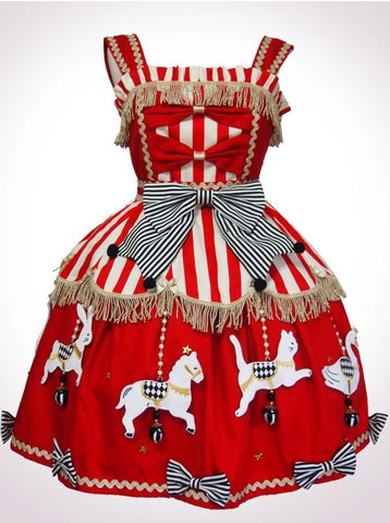 Vierge Vampur  Animal Carousel JSK (red)