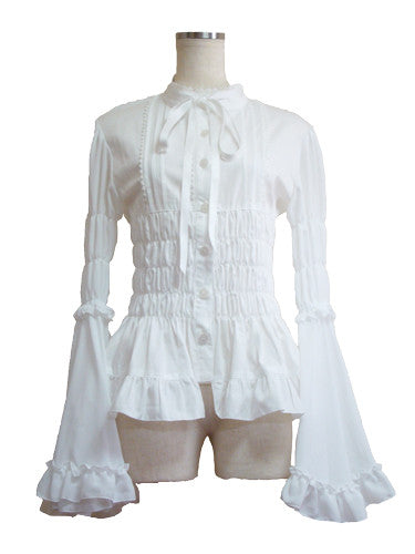 ATELIER PIERROT Eternal Blouse white