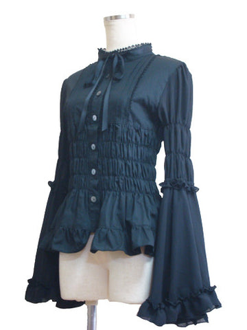 ATELIER PIERROT Eternal Blouse black