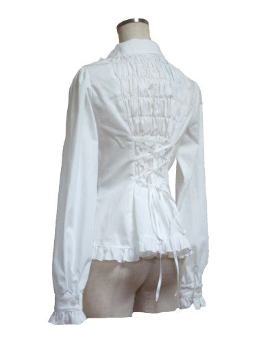 ATELIER PIERROT Canzone Blouse white