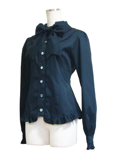 ATELIER PIERROT Canzone Blouse black