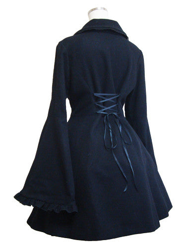ATELIER PIERROT Princess sleeves Coat with Cape