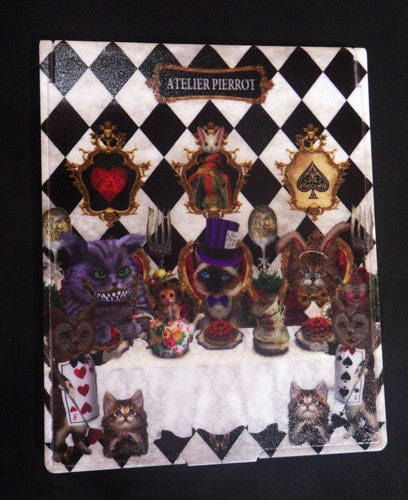 ATELIER PIERROT Cats tea party -Alice in wonderland- Mirror