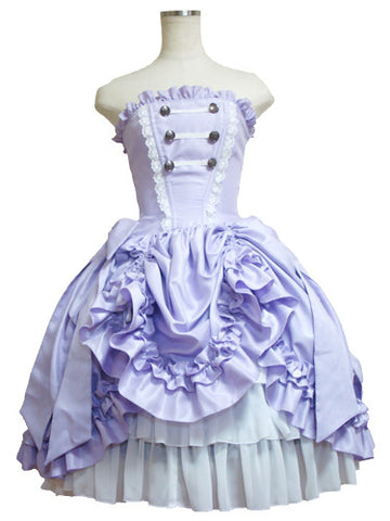 ATELIER PIERROT Fantasia Corset Dress lavender