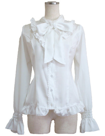 ATELIER PIERROT Regulus Blouse white
