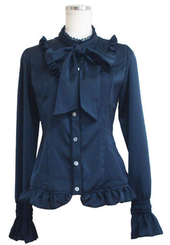 ATELIER PIERROT Regulus Blouse black