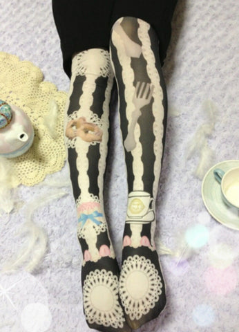 "Traumerei ""Afternoon tea tights"""