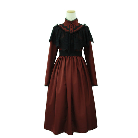 "Sheglit ""Noble Elegant Dress(Bordeaux)"""