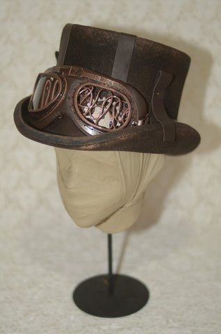 "corgi-corgi ""Steampunk top hat (Bronze)"""