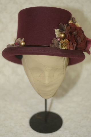 "corgi-corgi ""Top hat(Burgundy)"""