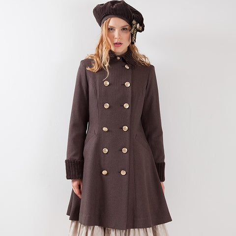 EXCENTRIQUE '15A Academia Beret BROWN