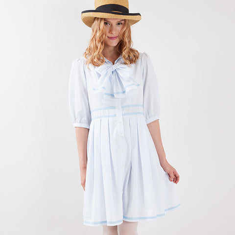 EXCENTRIQUE '15A Cristopher Sailor Dress blue