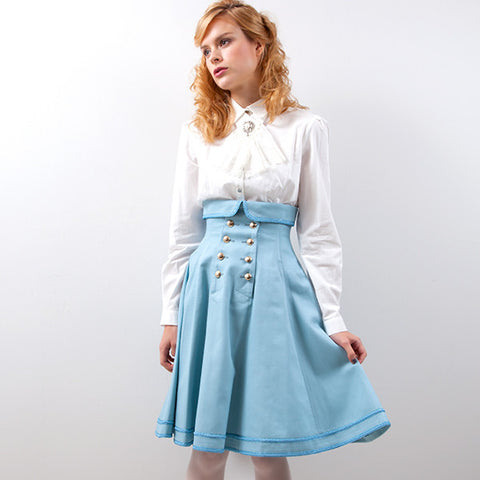 EXCENTRIQUE '15SP Inspector Corset Skirt MINT