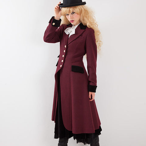 EXCENTRIQUE '15A Riding Coat WINE