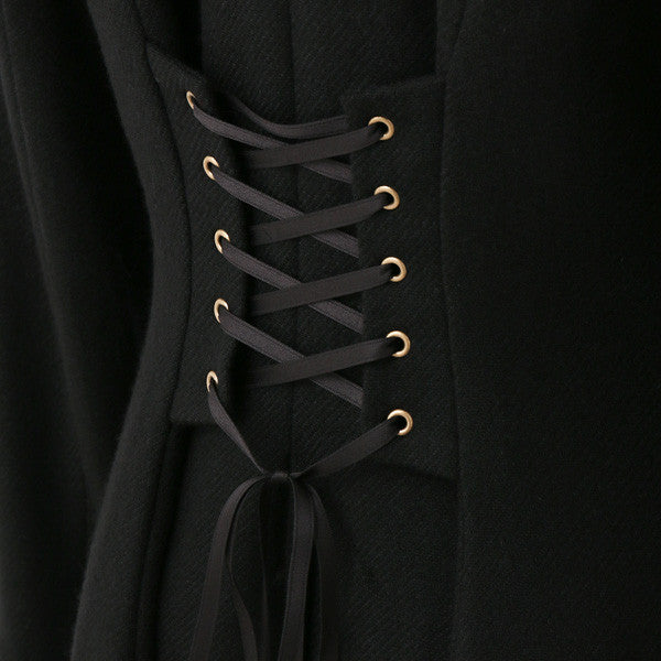 EXCENTRIQUE '15A Riding Coat BLK