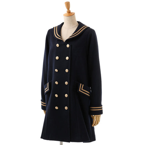 EXCENTRIQUE '15A Sailor Coat navy