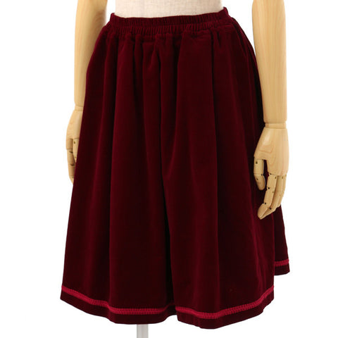 EXCENTRIQUE '15A Ritual Skirt BORDEAUX