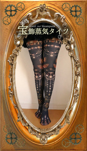 "Lilly ""Jewelry Steam Tights"""