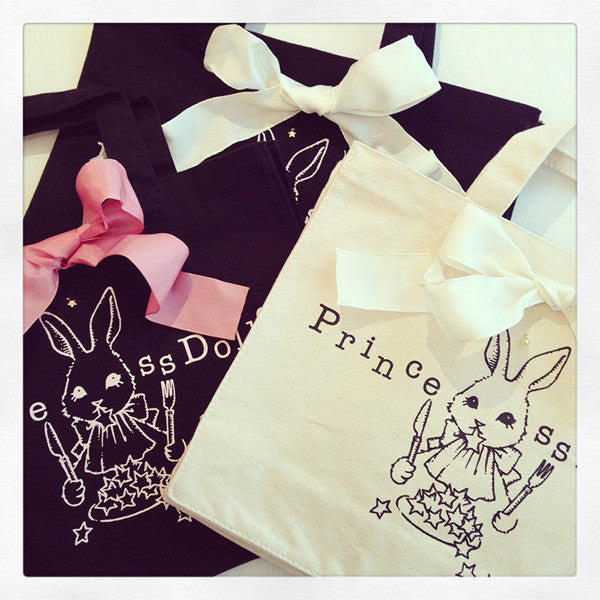 "Princess Doll ""Night Stars Accumulate On Me Rabbit"" Tote Bag"