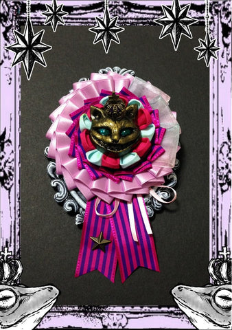"御蛙商店 ~Frogking Store~ ""Cheshire Cat Ribbon Rosset"""