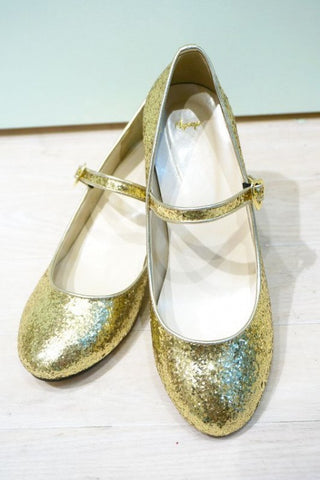RoseMarie seoir glitter shoes(gold) M