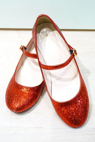 RoseMarie seoir glitter shoes(red) M