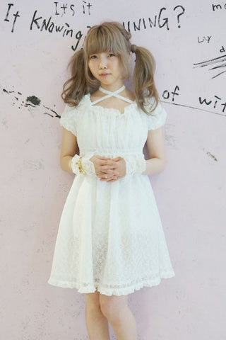 RoseMarie seoir bubble girl OP (white lace)