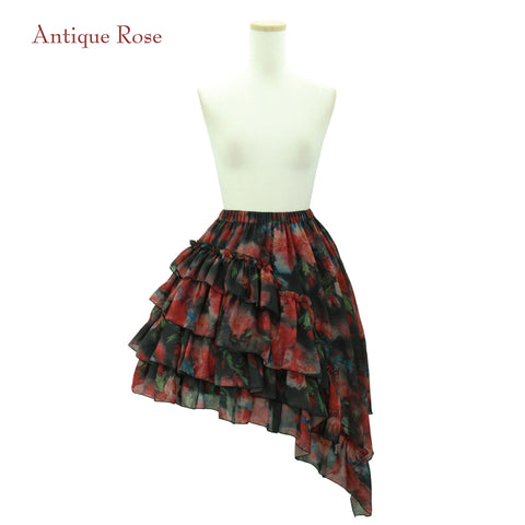 "Sheglit ""Rose Garden"" Frill Skirt antique rose"