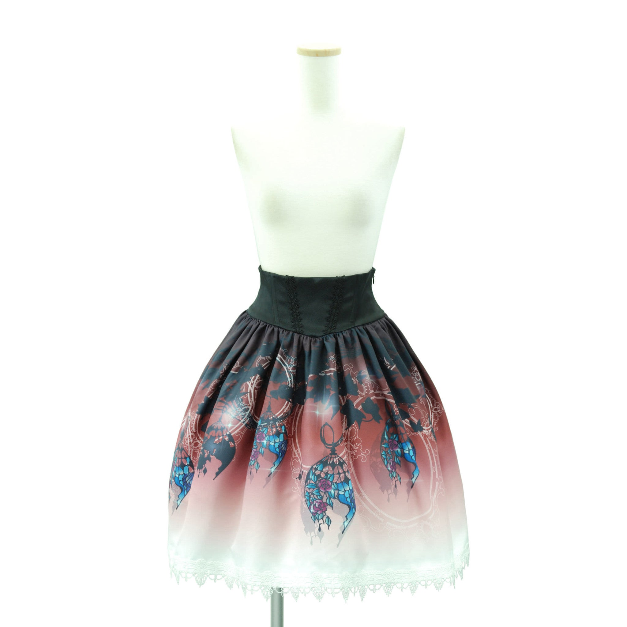 "Sheglit ""Lamp Shade Skirt"" bordeaux"