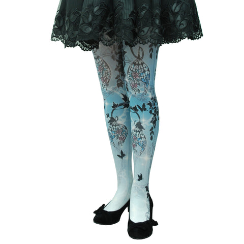 "Sheglit ""Lamp Shade tights"" navy"