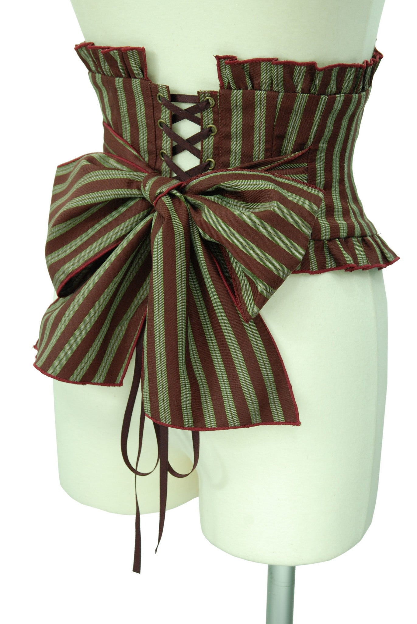 "Sheglit ""Eleanor"" Ribbon Corset bordeaux"