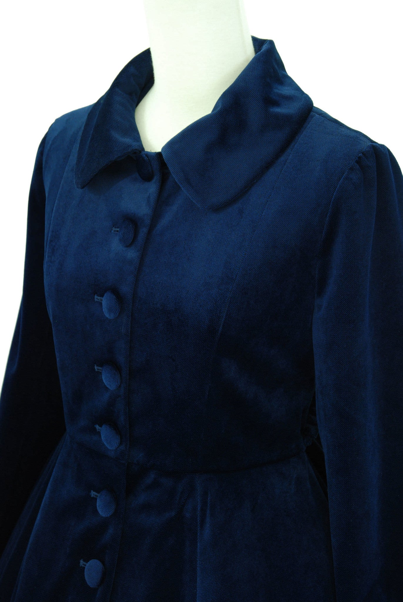 "Sheglit ""Agnes"" Classical Coat navy"