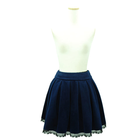 "Sheglit ""Agnes"" Box Tack Skirt navy"